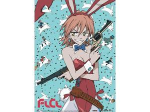 Wall Scroll - FLCL - New Haruko Bunny Fabric Poster Anime Art Licensed ge9664