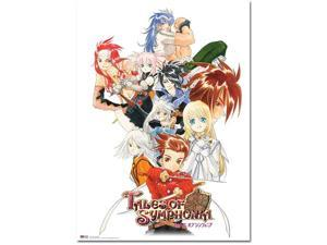 Wall Scroll - Tales Of Symphonia - New GameCube Cover Art 1 Anime ge60256