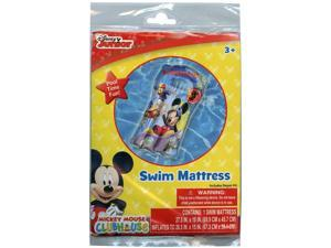Games - Pool Swim Mattress - Disney Mickey Mouse Junior Inflatable Raft New