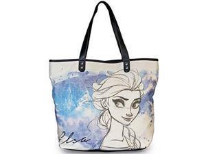 Tote Bag - Disney - Frozen Elsa Hand Drawn Canvas Purse New Licensed wdtb0622