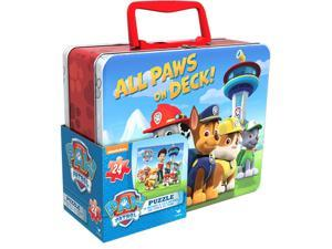 Puzzle - Paw Patrol in Lunch Box Style Tin New 58549