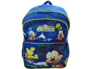 """Backpack - Disney - Mickey Mouse Cargo 16"""" New MKCR"""