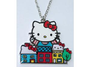 Necklace - Hello Kitty - New Sanrio Cat City Metal Anime Licensed sann0010