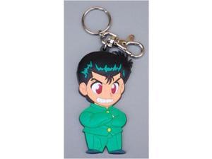 Key Chain - Yu Yu Hakusho - New Yusuke PVC Toys Anime Licensed ge3273