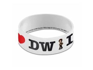 Wristband - Doctor Who - I Heart Heart the Doctor PVC New Gift Toys dw01150
