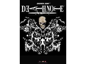 Wall Scroll - Death Note - Skull Ryuk Design Fabric Poster Art New Gifts ge9933
