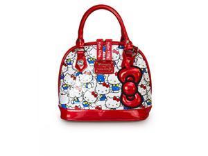 Hand Bag - Hello Kitty - Vintage shiny mini patent faux leather santb1271