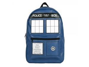 Backpack - Dr. Who - Tardis PU New School Bag bp2wgqdrw