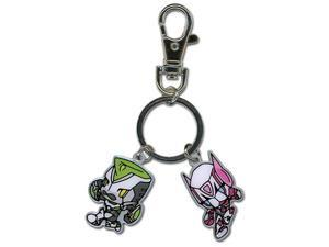 Key Chain - Tiger & Bunny - New SD Wild Tiger & Bunny Anime Licensed ge36578