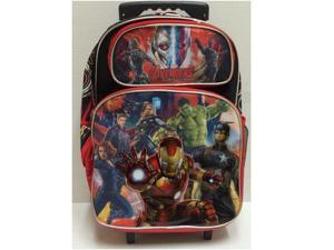 "Large Rolling Backpack - Marvel - Avengers Assemble 16"" New 613136"