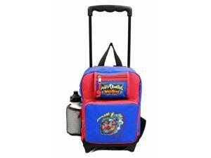 Small Rolling Backpack - Power Rangers - Fury Wild Force Red/Blue New 44910