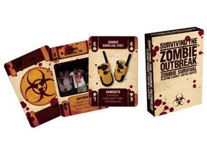 Playing Card - Zombies - Zombie Survival 2 Poker Licensed Gifts Toys 52257