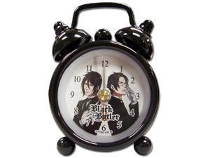 "Desk Clock Mini - Black Butler - New Sebastian Vs. Claude 3"" Gifts ge6561"