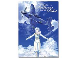 Wall Scroll - Princess & the Pilot - New Toaru Hikoushi Fana Licensed ge60115