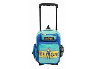 Small Rolling Backpack - Yu-Gi-Oh - Group (Blue) New School Bag 49081