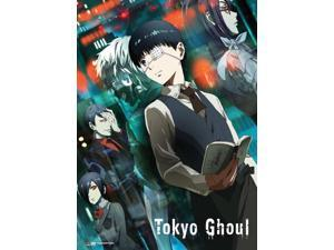 Fabric Poster - Tokyo Ghoul - New Kaneki & Ghouls Wall Art Toys Licensed ge79373