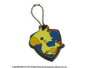 Key Chain - Final Fantasy - Theatrhyth Chocobo Rubber New Licensed Toys