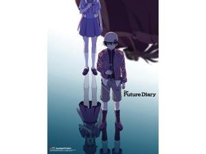 Wall Scroll - Future Diary - New Keyart Fabric Art Licensed Anime ge60709