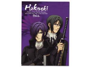 "Notebook - Hakuoki Season 2 - New Glue Bound Key Art 10x7.5"" ge43033"