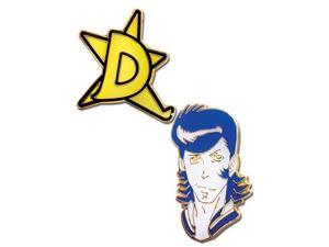 Pin Set - Space Dandy - New Dandy with D- NewStar Anime Licensed ge50543
