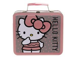 Lunch Box - Hello Kitty - Pink Big Bow New Licensed Gifts sanlb0164