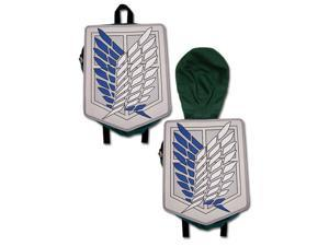Backpack - Attack on Titan - New Scout Regiment Hooded Anime Licensed ge11197