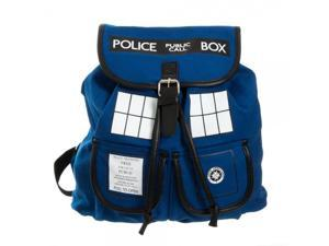 Backpack - Dr. Who - Blue Tardis Knapsack New Anime Licensed bp1ve6drw