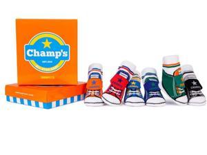Socks - Trumpette - Champ's Baby Accessories 0-12 Mos Set Of 6