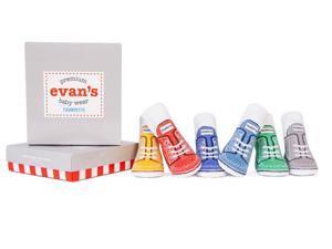 Socks - Trumpette - Evan's Baby Accessories 0-12 Mos Set Of 6