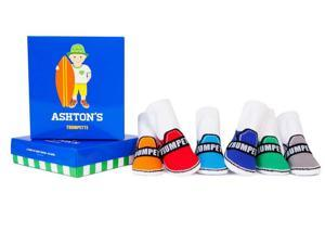 Socks - Trumpette - Ashton's Baby Accessories 0-12 Mos Set Of 6