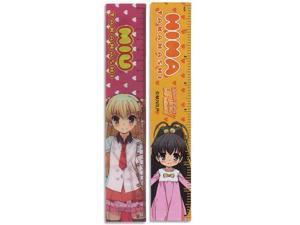 Stationery - Listen to Me - Girls Lenticular Pack of 5 Toys Anime Ruler ge70031