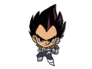 Patch - Dragon Ball Z - New SD Vegeta Chibi GT Anime Iron-On Licensed ge2162