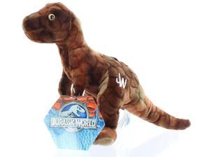 "Plush - Jurassic World - Tyrannosaurus Brown 7"" Soft Doll Toys New"