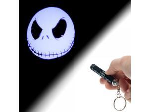 Key Chain - Nightmare Before Christmas Jack Logo Flashlight New ke1k63nbc