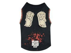Pets Supply - Dog T-Shirt - The Walking Dead - Daryl Wings Tee-L TWD215