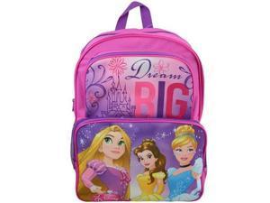 "Backpack - Disney - Princess Big Dream Pink 16"" New PR27645UPPK"