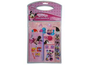 Stationary - Minnie Bowtique 11pc Value Pack in PVC bag