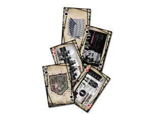 Playing Card - Attack on Titan - New Poker Game Toys Licensed ge51582