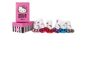 Socks - Hello Kitty - Bow Pixie's Baby Accessories 0-12 Mos Set Of 6