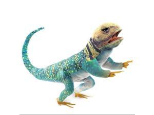 Hand Puppet - Folkmanis - Lizard Collared Puppet New Toys Soft Doll Plush 3063