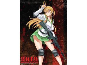 Wall Scroll - High School of the Dead - New Rei Fabric Poster Anime Gifts ge5901