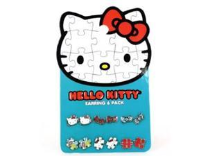 Earring Pack - Hello Kitty - New Sanrio Puzzle Set-6 Toys Gifts sane0050