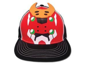 Baseball Cap - Evangelion - New Eva Unit 2 Fitted Anime Licensed ge32113