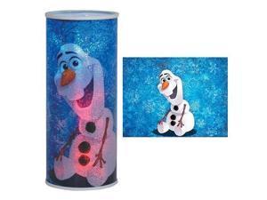 Cylindrical Nightlight - Frozen - Olaf Light New Licensed 26407