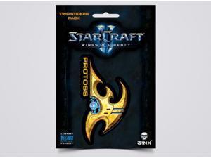 Sticker - Starcraft II - Heart of the Swarm Protoss Logo Sign Icon New j3961