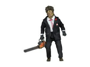 "Action Figure - Texas Chainsaw Massacre 2 - 8"" Movie Clothed Leatherface 14945"
