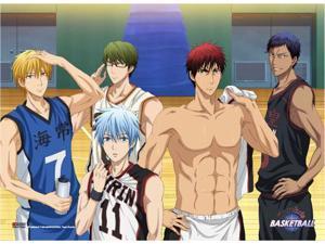 Fabric Poster - Kuroko's Basketball - Group 6 New Toys Licensed ge79447