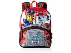 "Medium Backpack - Paw Patrol - Chase/Marshall w/Light 14"" New 847163"