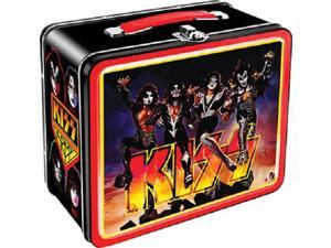 Lunch Box - KISS - Band Team Tin Case Licensed Gifts Toys 48112