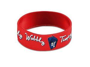 Wristband - Doctor Who - Timey Wimey PVC New Gift Toys Licensed dw01171
